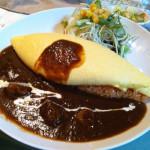 中野坂上の美味しいオムライスを食べに行きました。