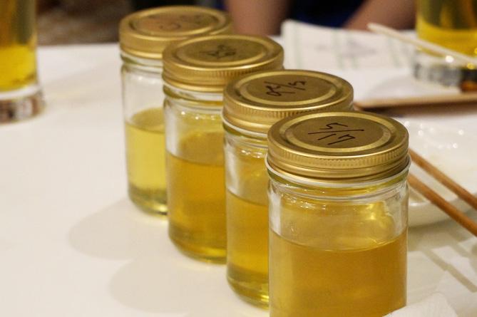 熟成期間の異なるハチミツ